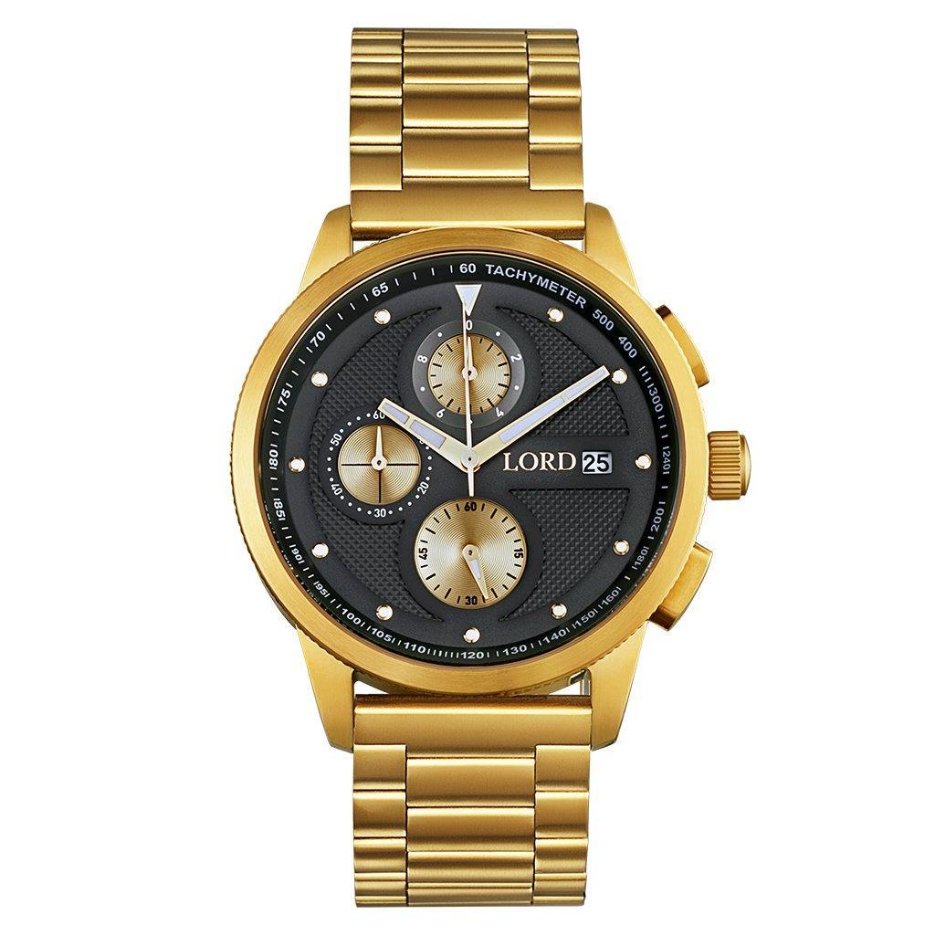 CHRONO GOLD BLACK