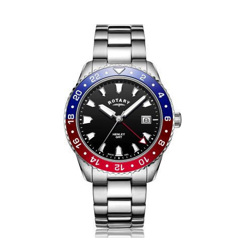 Rotary Henley GMT Watch