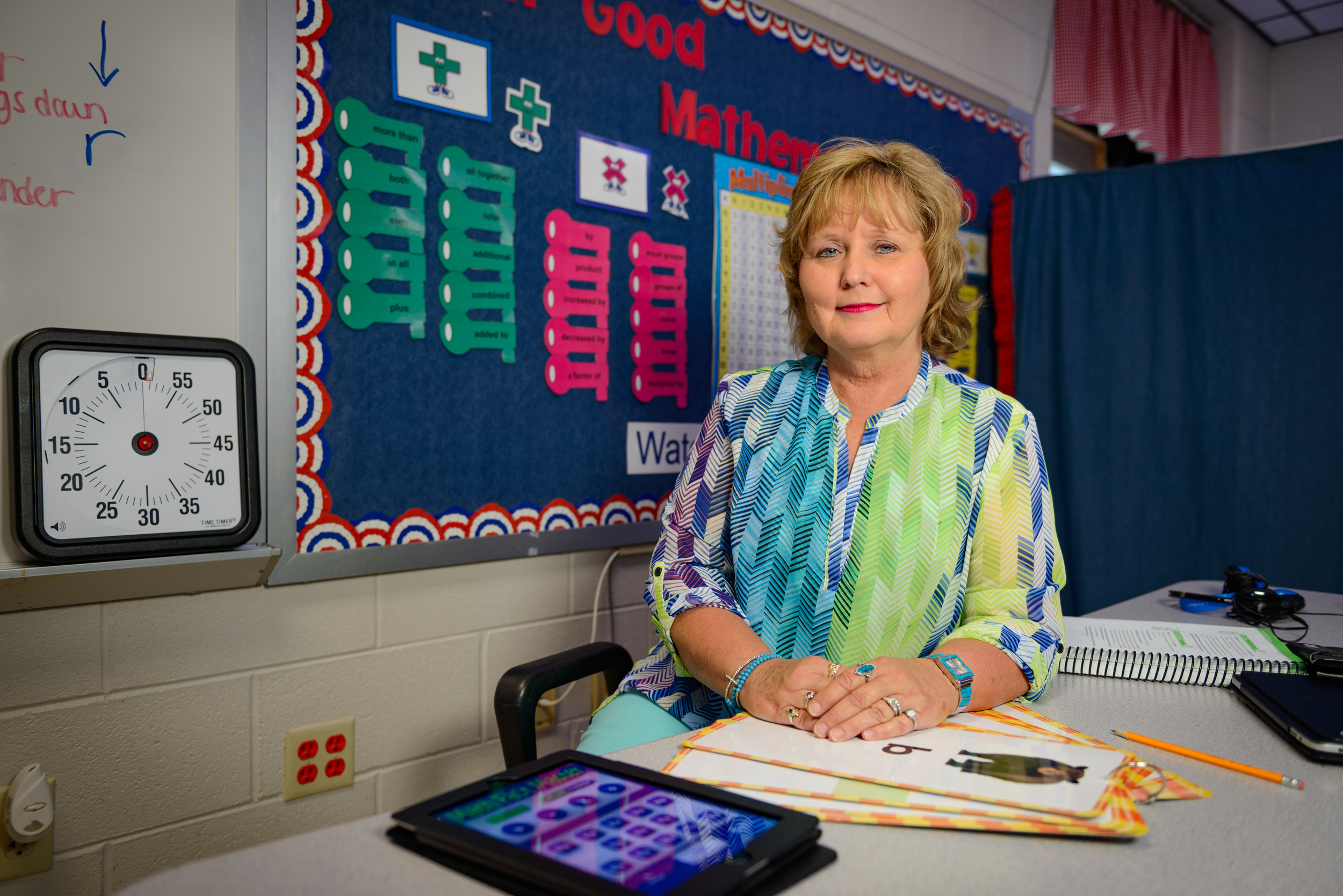 """The students are my Heroes."" Brenda Watson has worked as a Special Education Assistant since September 3rd, 1993."