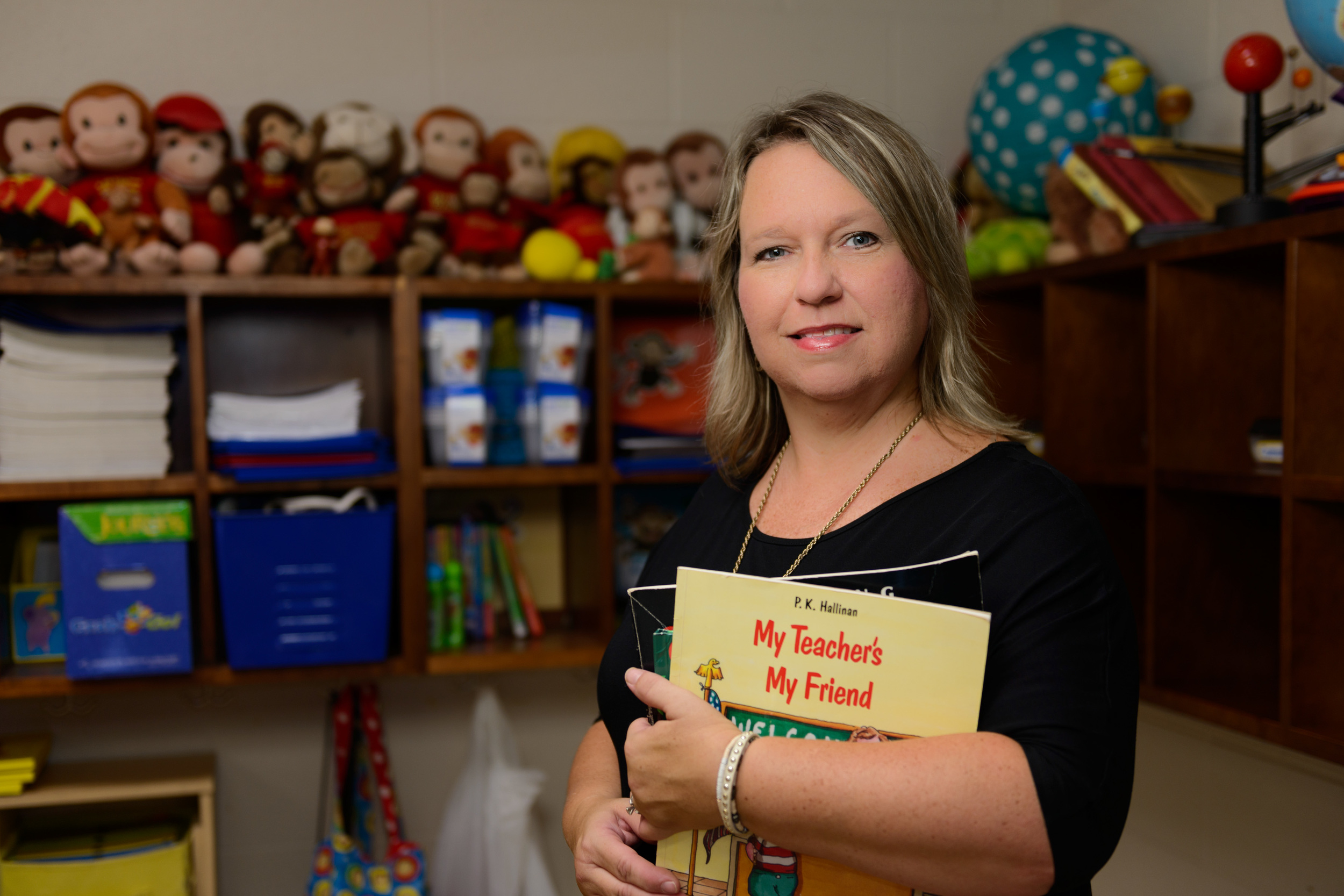 """Seeing that sparkle when they write their first story and read their first book inspires me to provide a quality education that meets the needs of all children."" -Penny Jones, Kindergarten Teacher, Madison Creek Elementary"