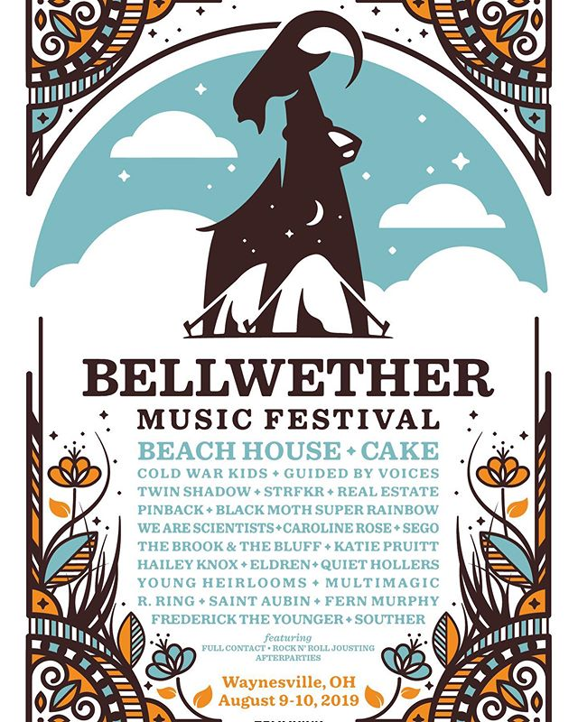 Bellwether is only a few weeks away! Make sure you get tickets now!
