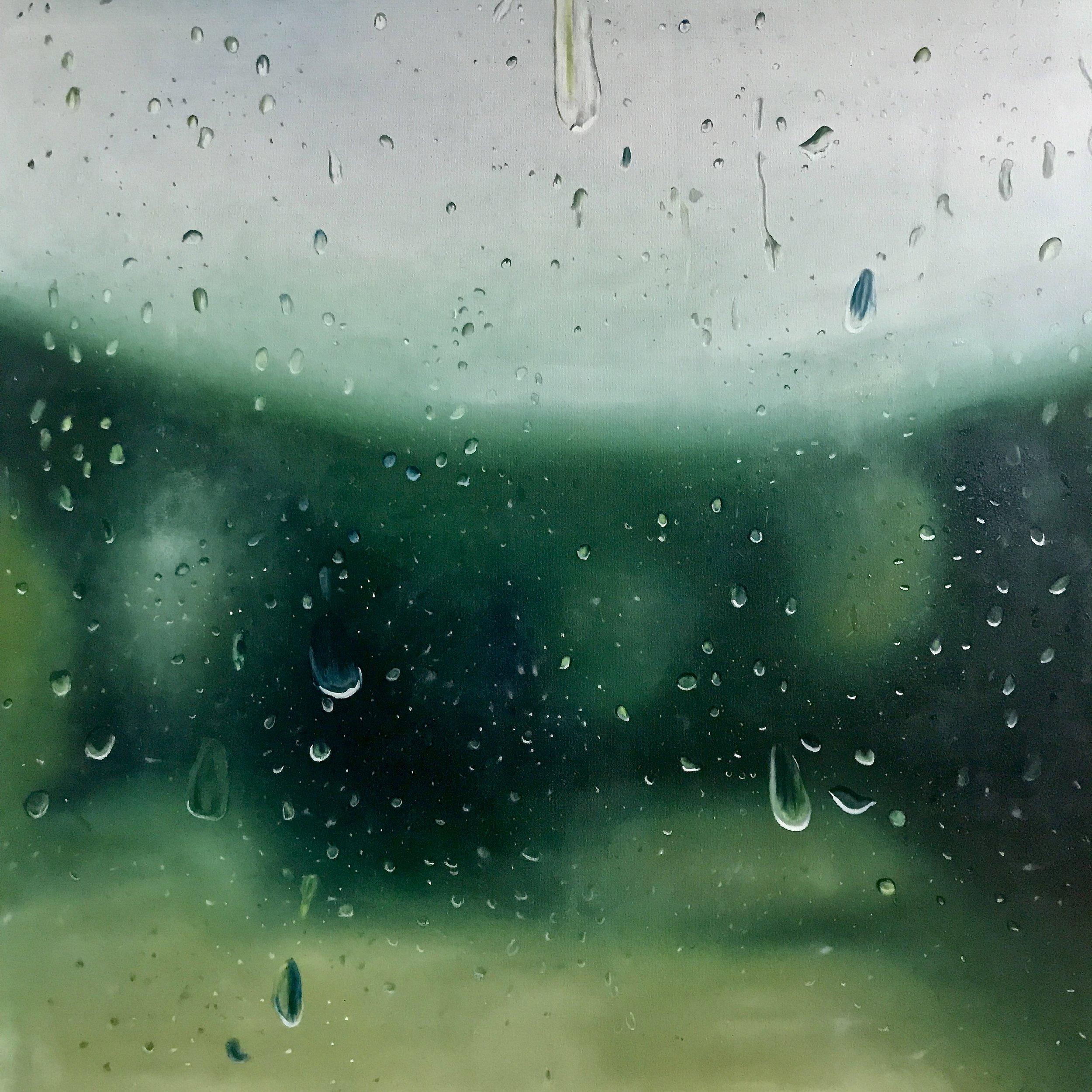 Summer Rain at Chateau Orquevaux