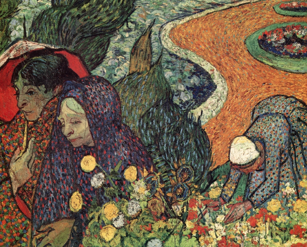 Memory of the Garden of Eden , Vincent Van Gogh Oil on canvas 1888
