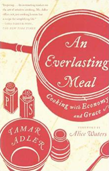 Ms. Adler's writes a brilliant essay on the philosophy of cooking that can help to change and influence our ways behind cooking. The Gent and I have begun an 'epic' project of reading this together. Read it with a friend, a lover or yourself and you're bound to be inspired to change or encouraged in the ways perhaps you've already embraced.