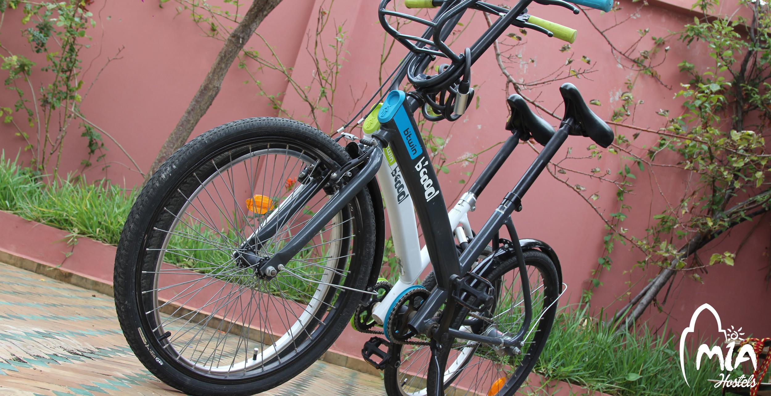 Renting bikes  MIA Hostel Asilah, Assilah, Arcilah