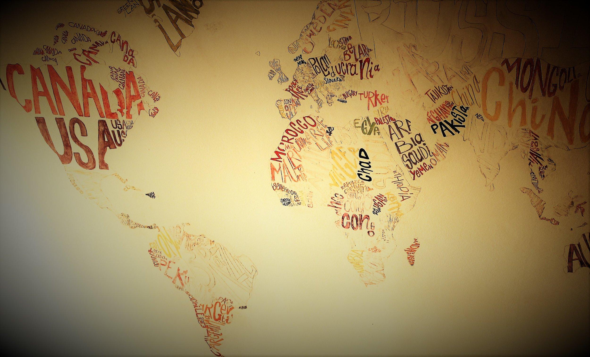Mia hostel Asillah stear's mural