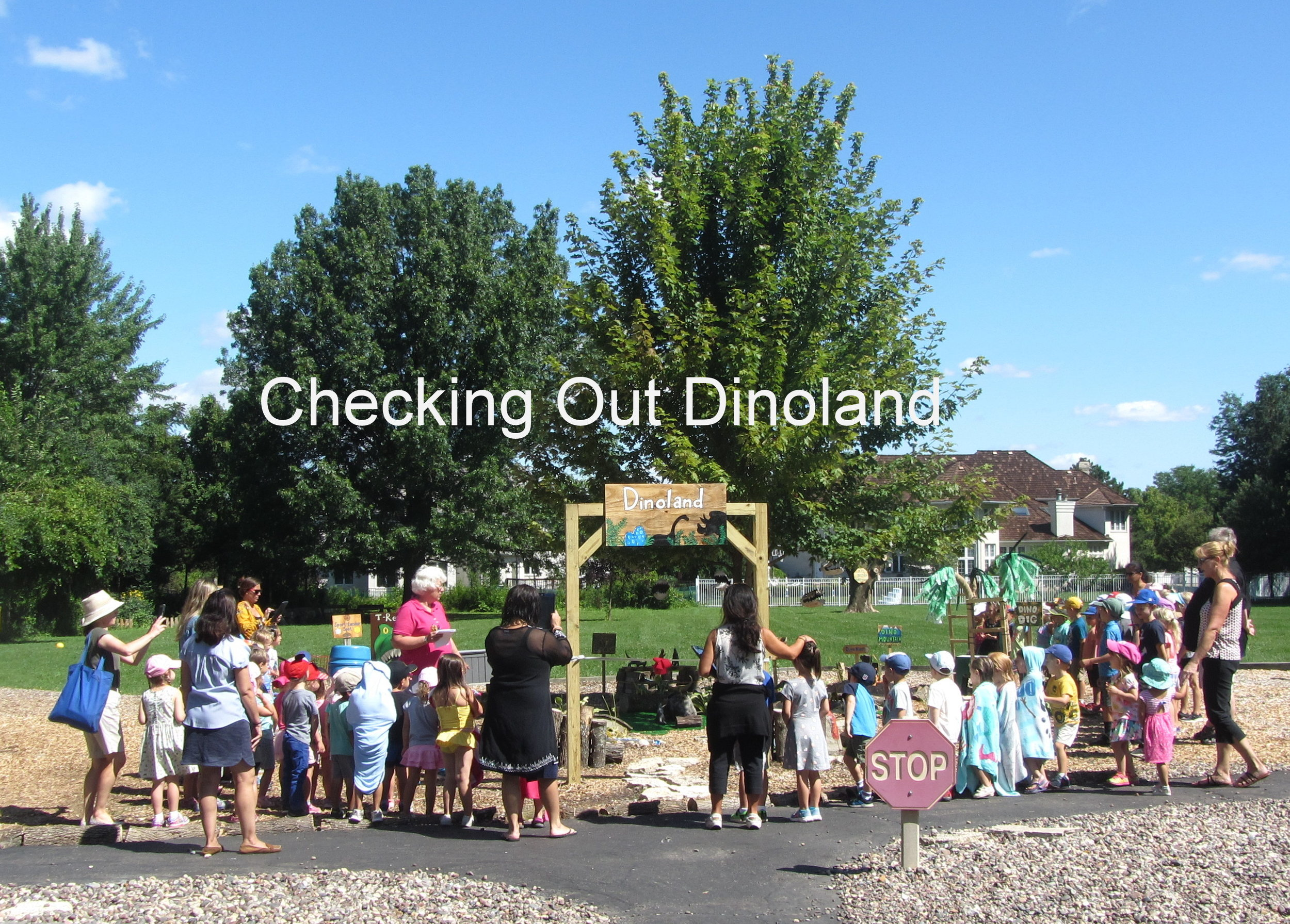2 Dinoland - Checking it Out.JPG