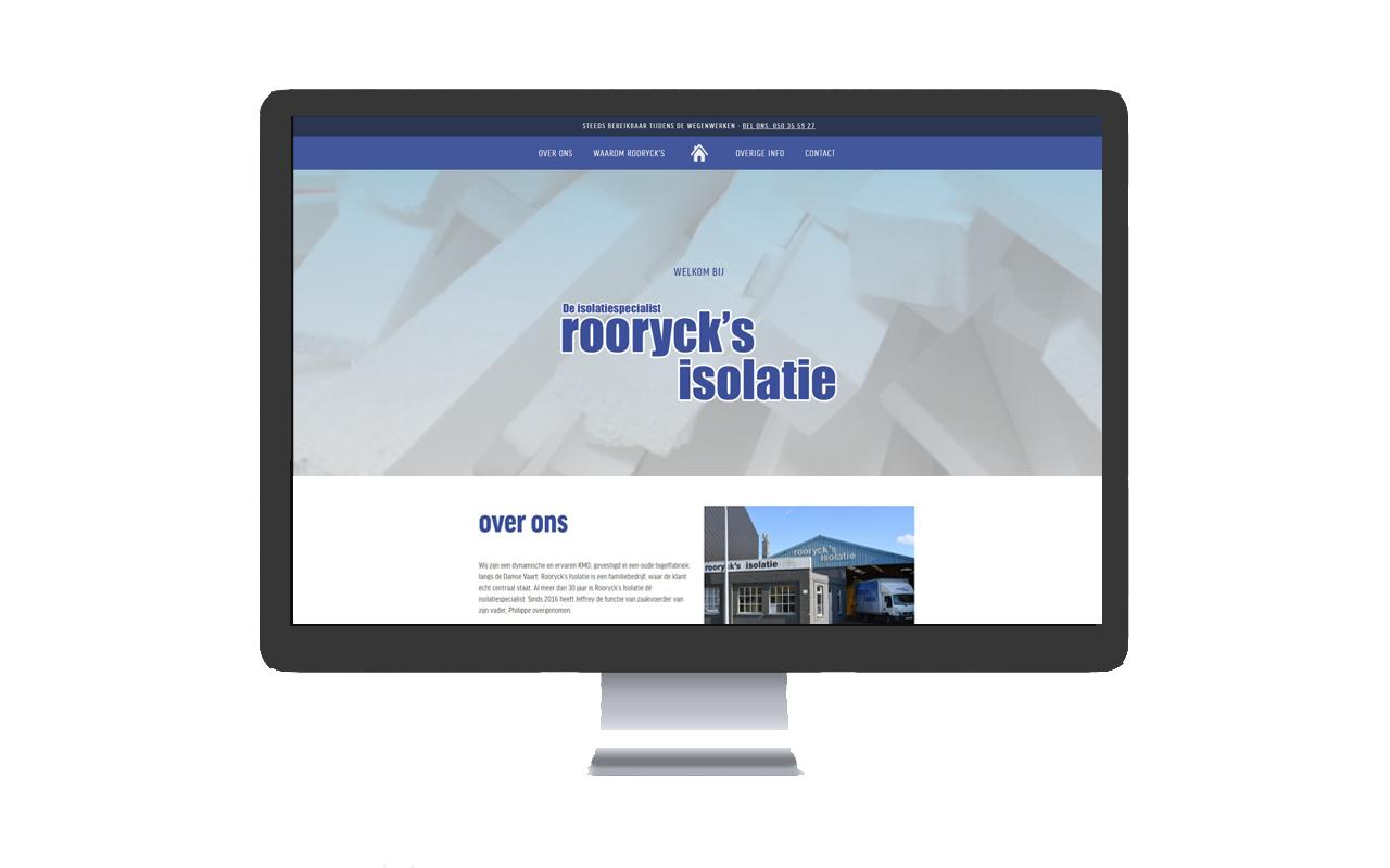ROORYCK'S ISOLATIE - BRUGGE -