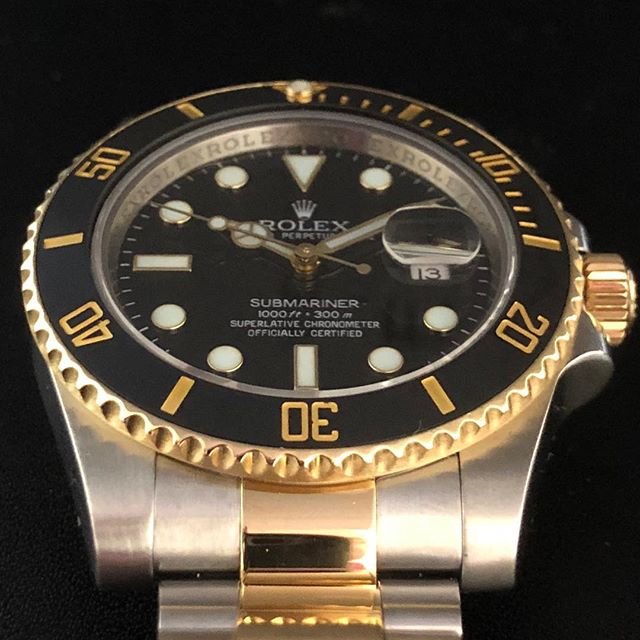 Rolex Submariner 116613. #dallaswatch #rolex #submariner #submarinerforsale