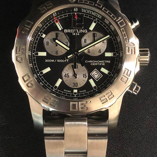 Breitling Colt Cronograph. #dallaswatch #breitling #colt #chronograph