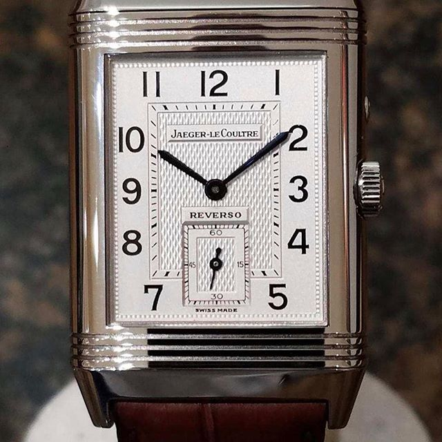 Jaeger Le Coultre Reverso Day Night. #dallaswatch #jaeger #jaegerlecoultre #reverso