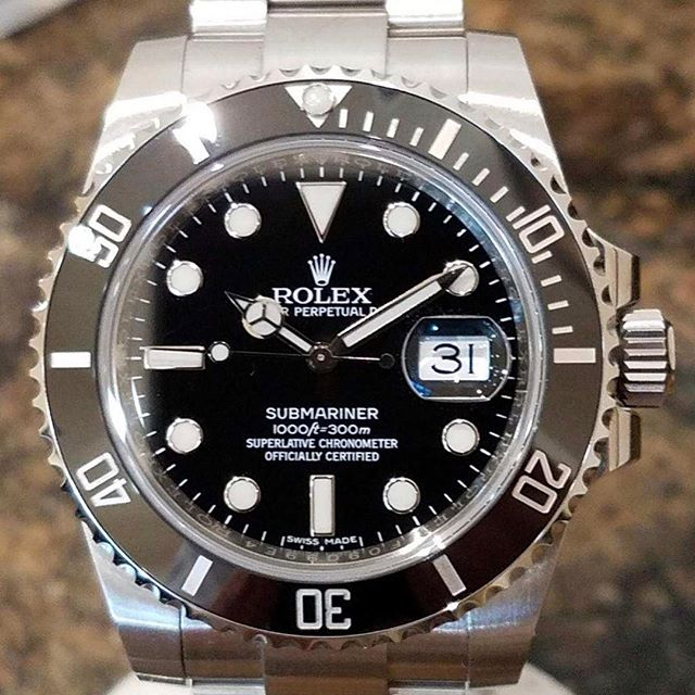 Rolex submariner 116613. #dallaswatch #rolex #submariner