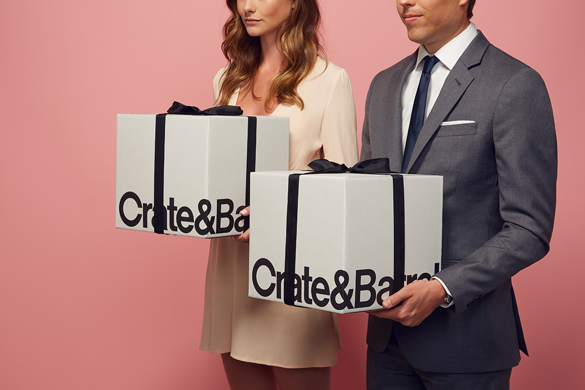 CARLOS RIOS THE BLACK TUX x CRATE & BARREL    Web & Social