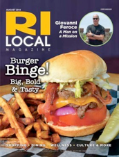 "RI Local Magazine - August 2014   ""Cool Off with Cookies and Cream"""