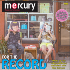 "Newport Mercury - September 2014  ""Ode to a time (before their own)"""