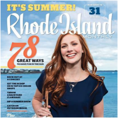 "Rhode Island Monthly - July 2015  ""Your Guide to Ice Cream in Rhode Island"""