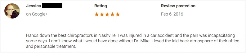 Car Accident Doctor Reviews