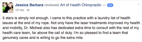 Cold Laser and Chiropractic Review