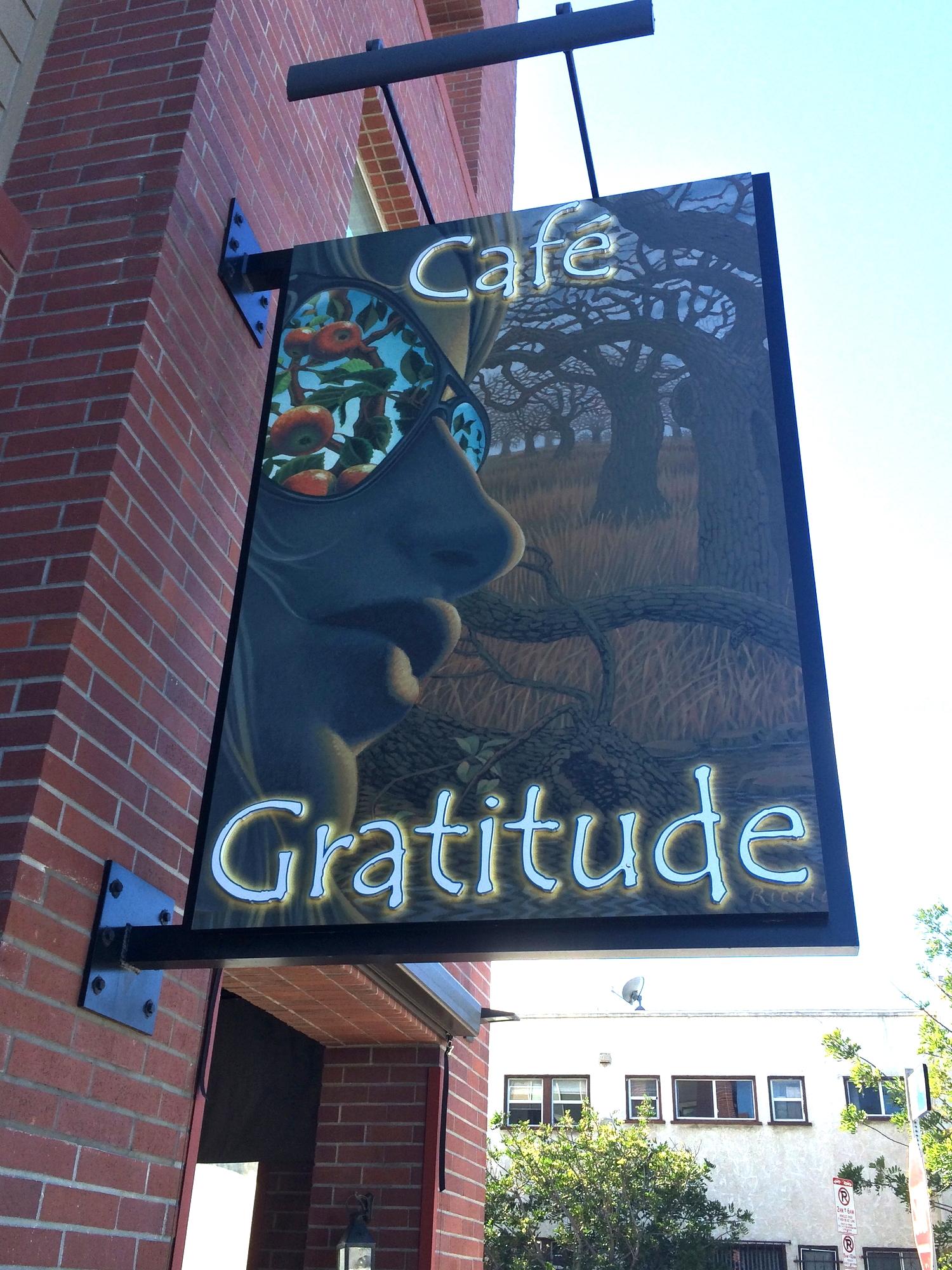 Cafe Gratitude, Venice, CA