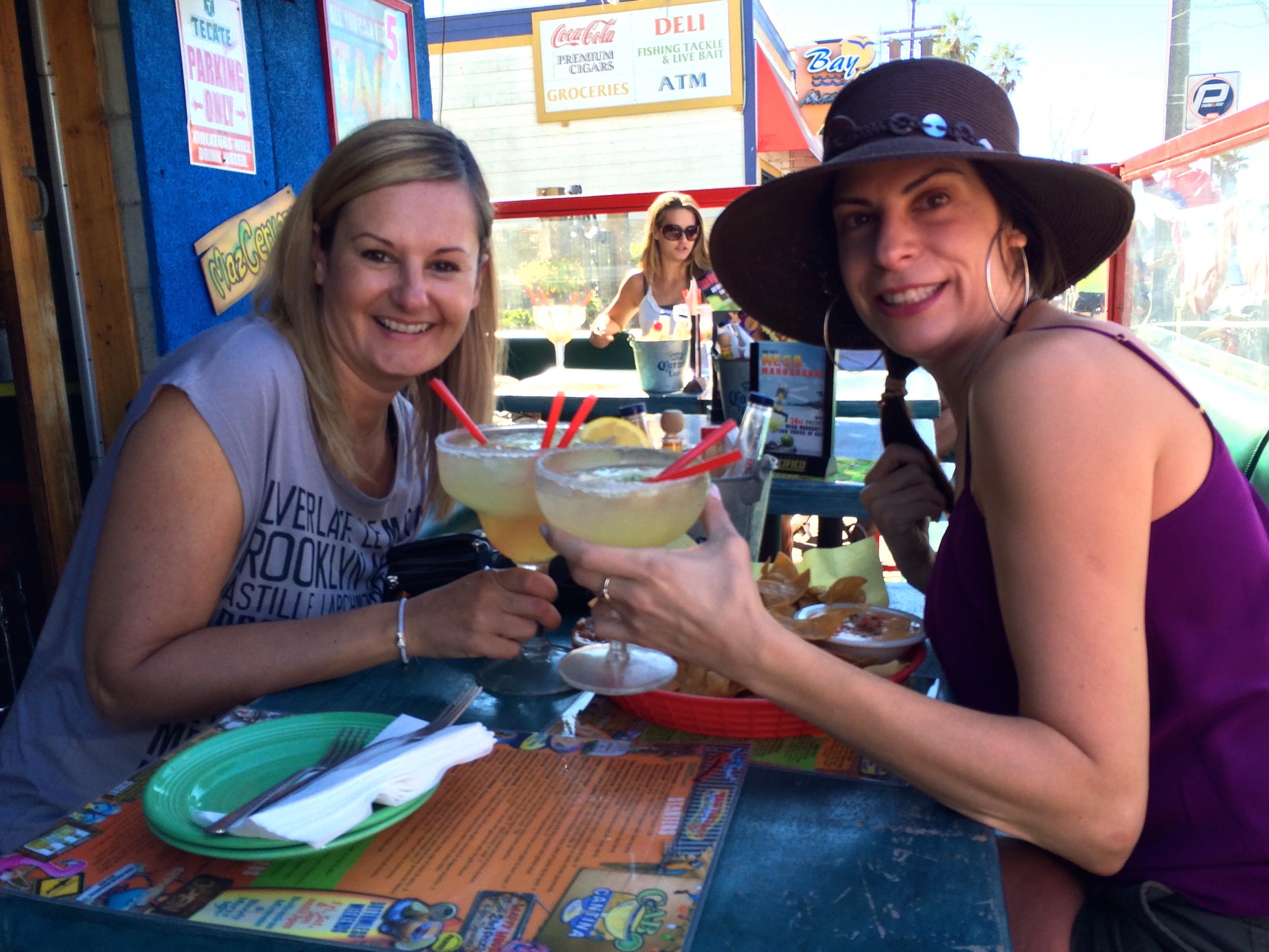 Margaritas in Venice Beach.