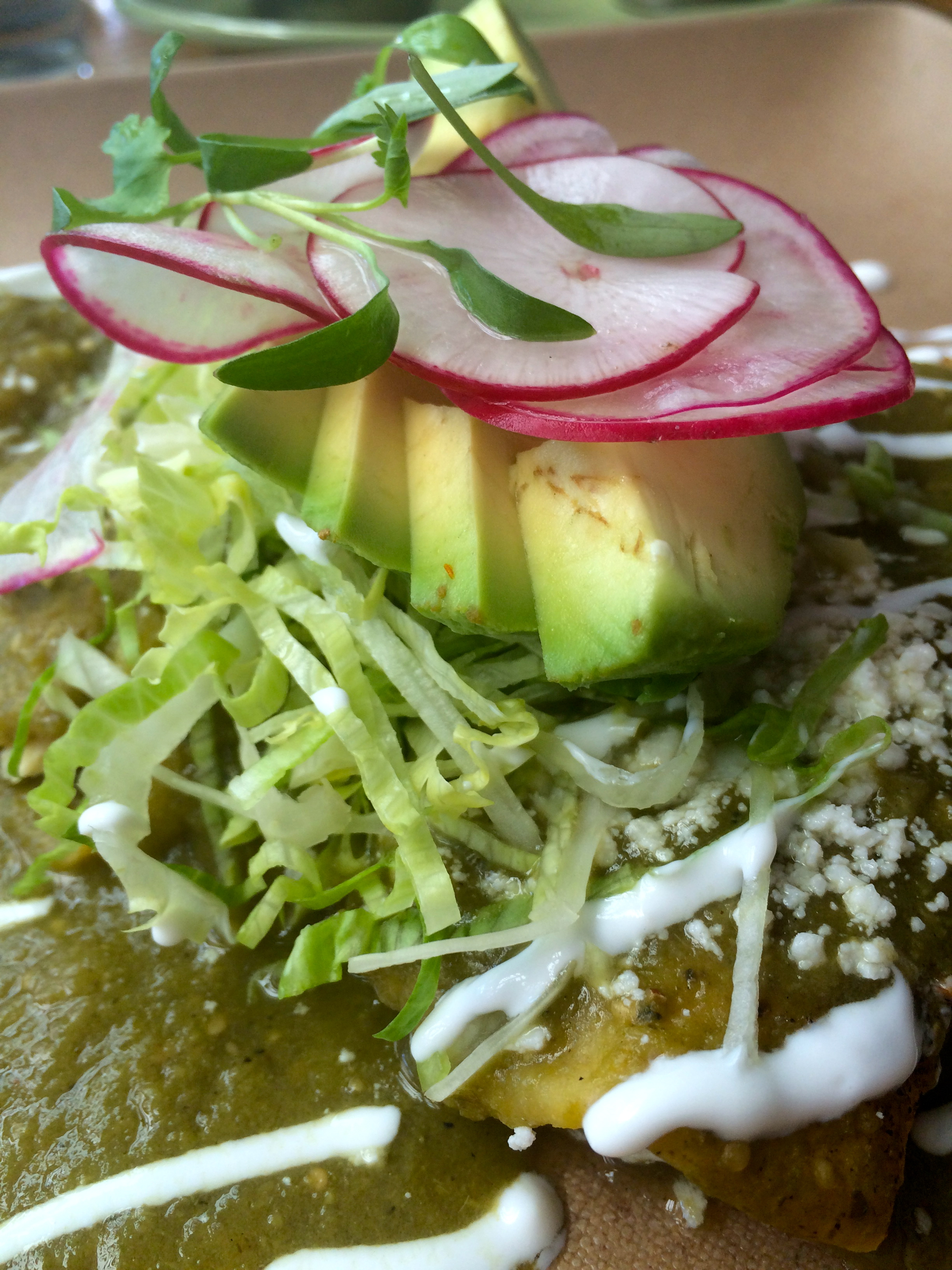 Dinner at Blue Plate Taco, Santa Monica.
