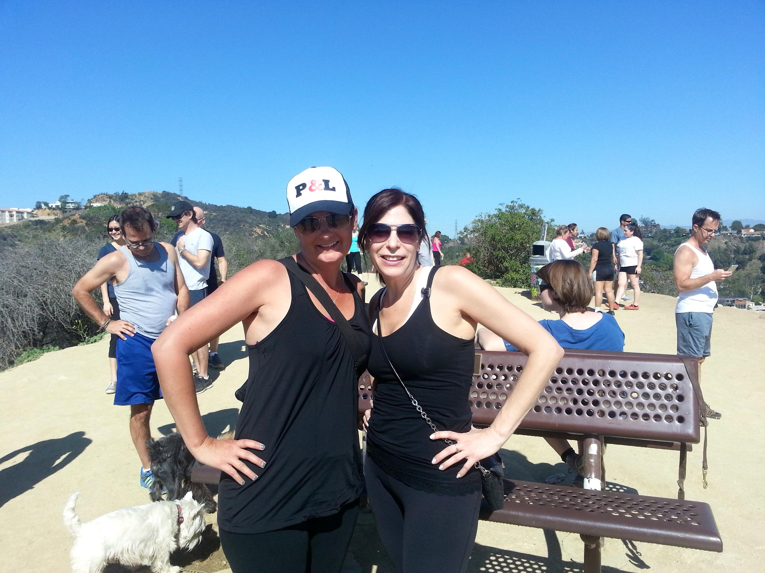 Runyon Canyon hike.