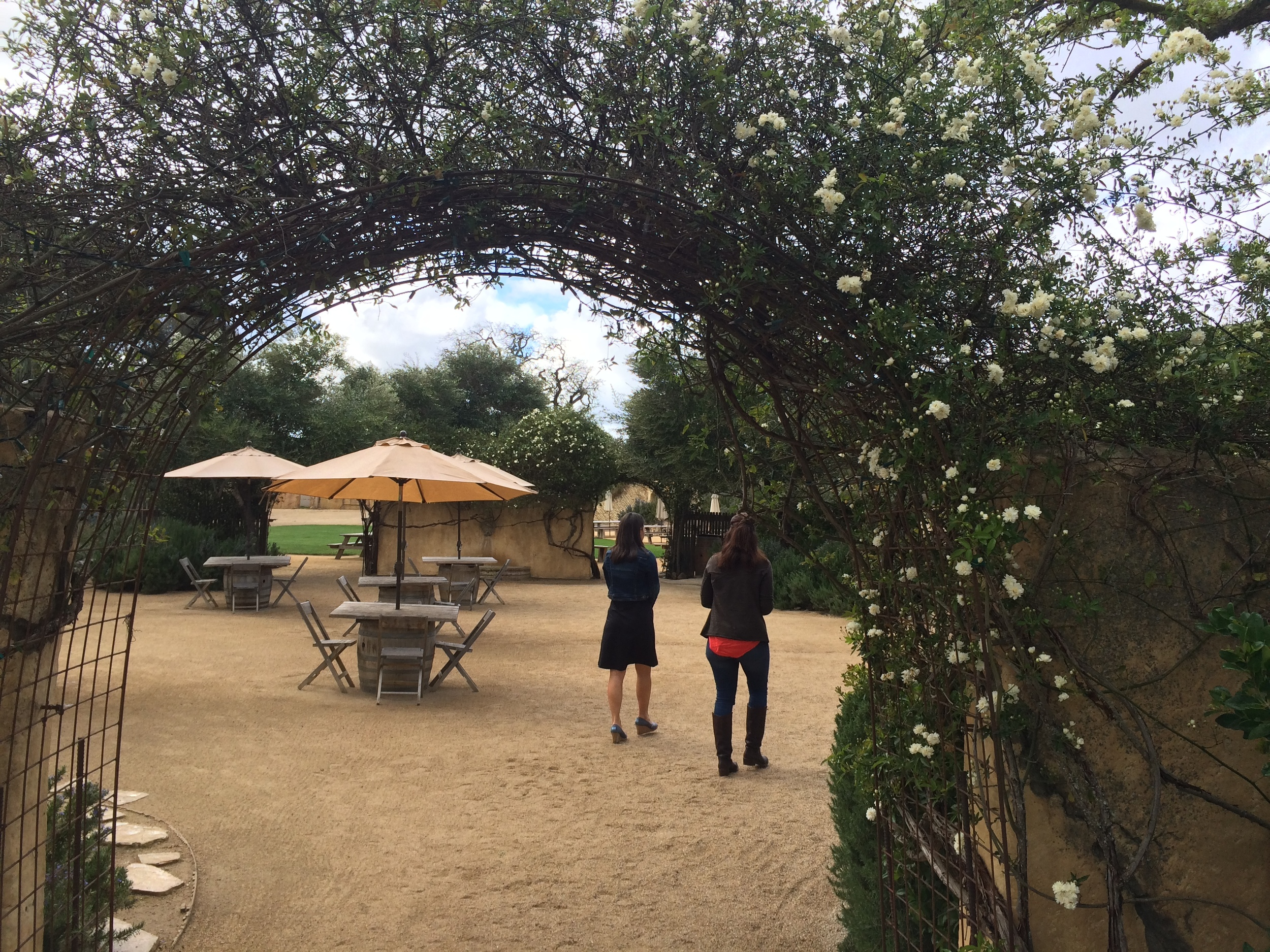 Sunstone Winery in Santa Ynez, CA.