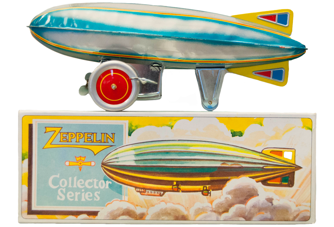 Zeppelin Wind-up Toy