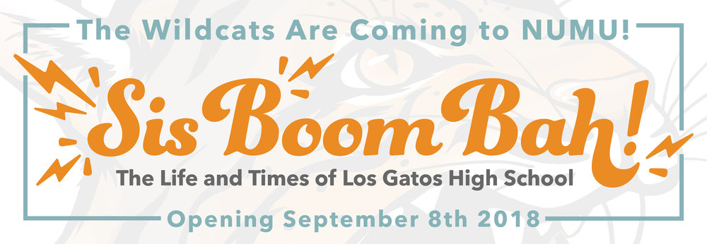 Sis Boom Bah The Life and Times of Los Gatos High School LGHS NUMU exhibition 2018.jpg