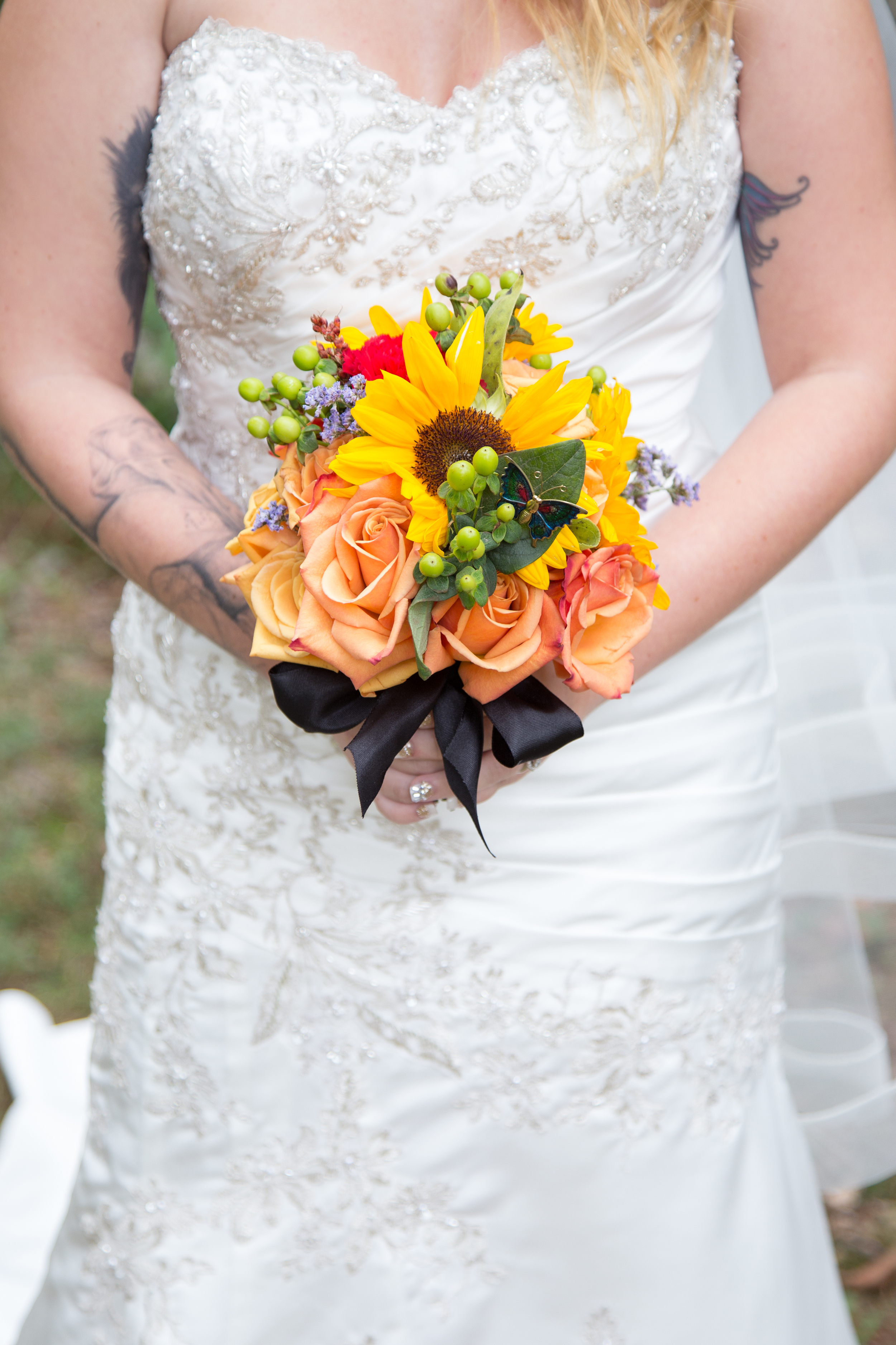 Love a beautiful Fall colored bouquet!