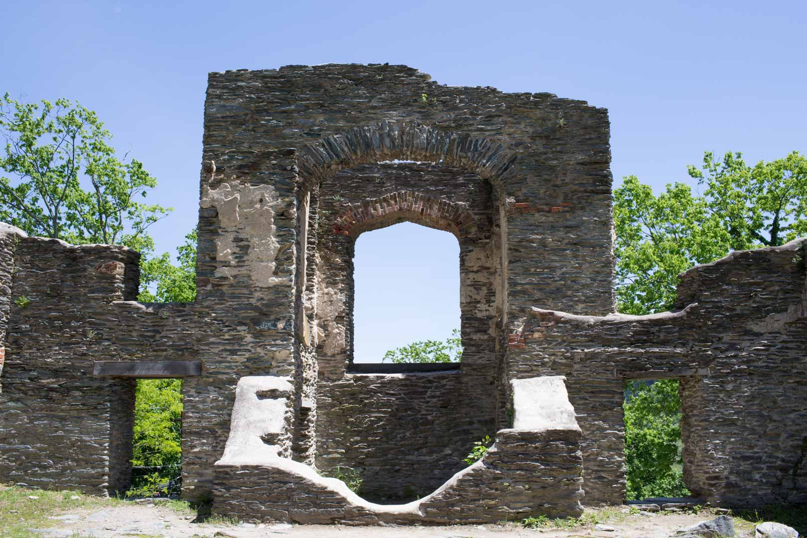 St. Johns Church ruins.