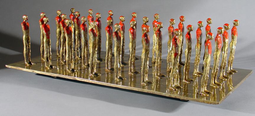 """John Tuomisto-Bell """"Follow The Leader #2"""" - 23.5x12x7.5 - $11,500 (#1/4)"""
