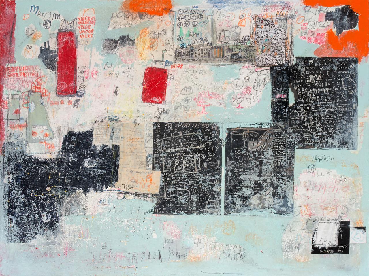 "Michael Viglietta - ""Mesa 2"" - 48x36 - $3,500"