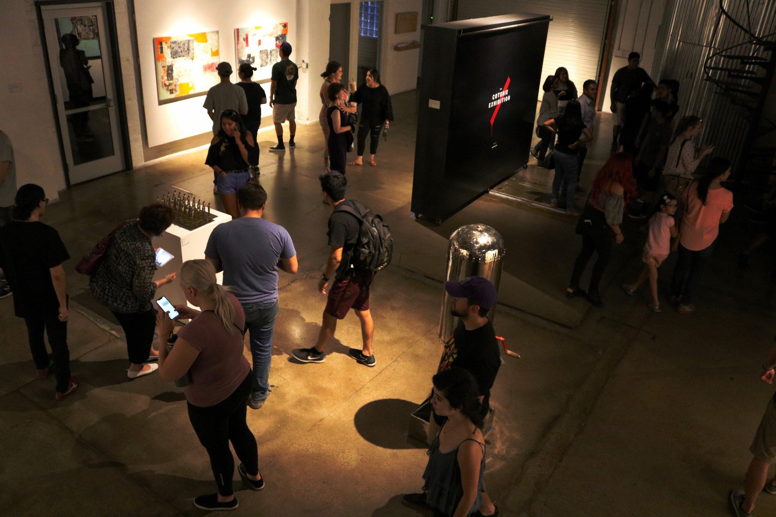 """The Coterie Exhibition"""
