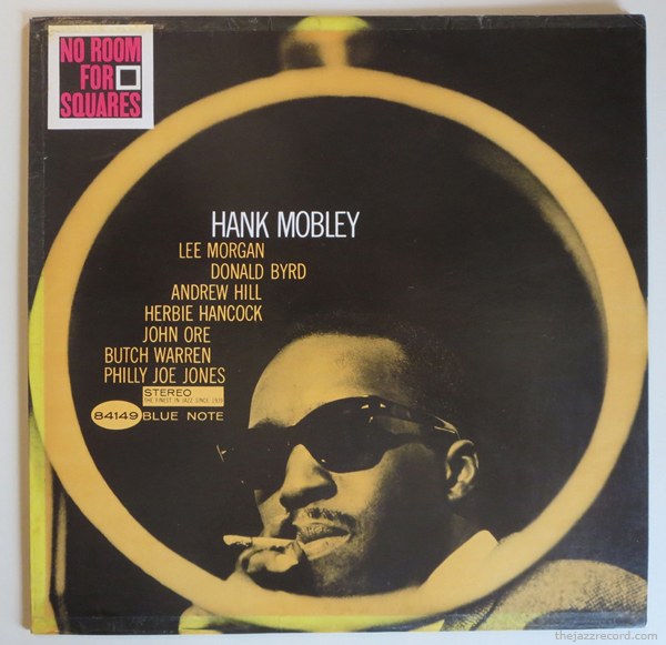 """Hank Mobley - """"No Room For Sqaures"""" - Front Cover"""