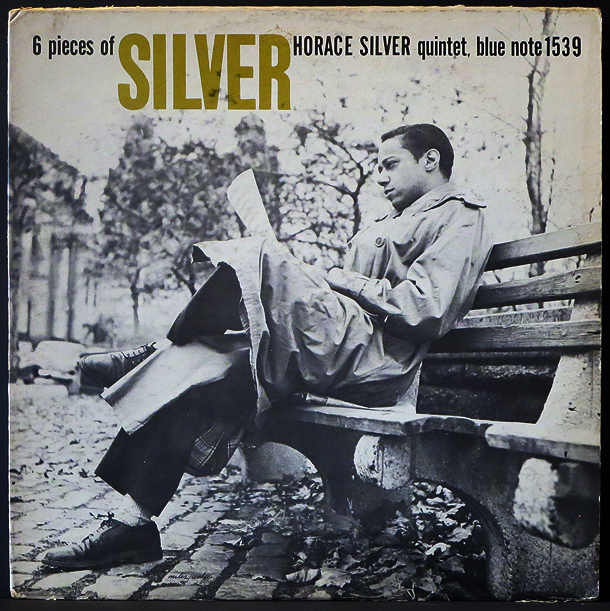 "horace silver - ""6 pieces of silver"" - front cover"