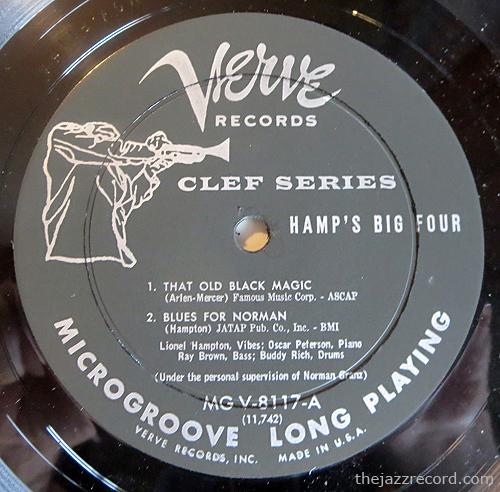lionel-hampton-hamps-big-four-label