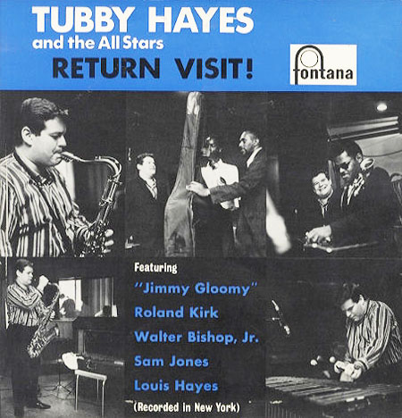 "U.K. Version: ""Return Visit!"" On Fontana (photo from discogs)"