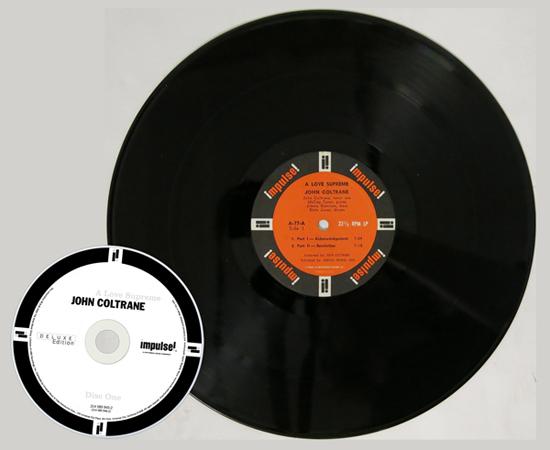 Coltrane CD and Vinyl