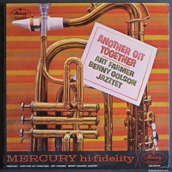 Art Farmer-Benny Golson-Jazztet-Front Cover-LP