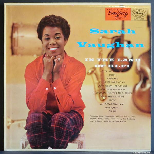 sarah-vaughan-in the land of hi fi-front cover-lp