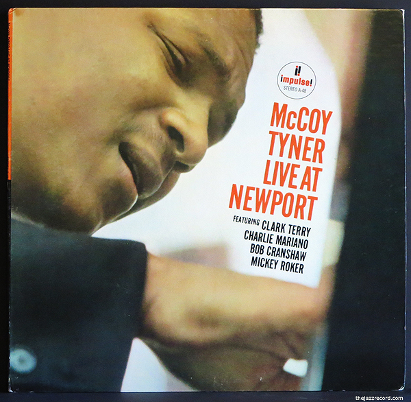 McCoy Tyner - Live At Newport - LP Front Cover