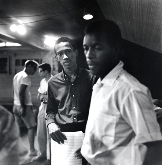 Ornette Coleman & Don Cherry Looking Cool In 1959. Photo By Clemens Kalischer.