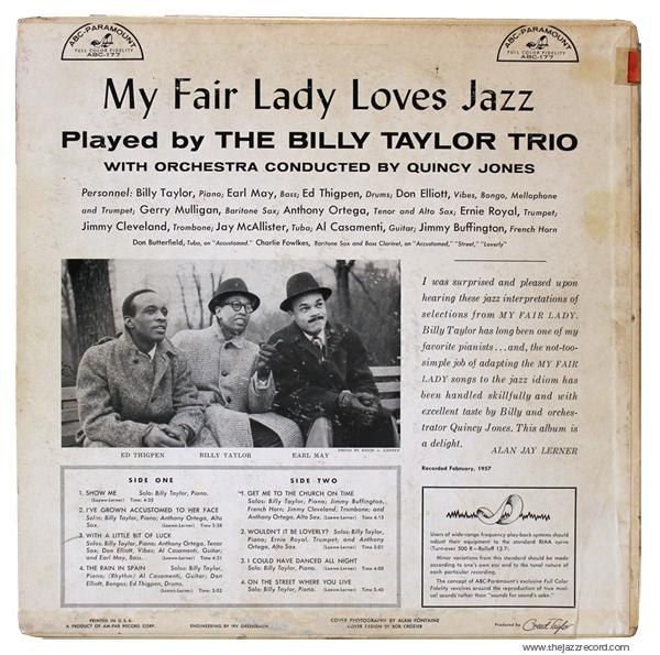 billy-taylor-my-fair-lady-loves-jazz-back-lp