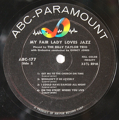billy-taylor-my-fair-lady-loves-jazz-label-lp