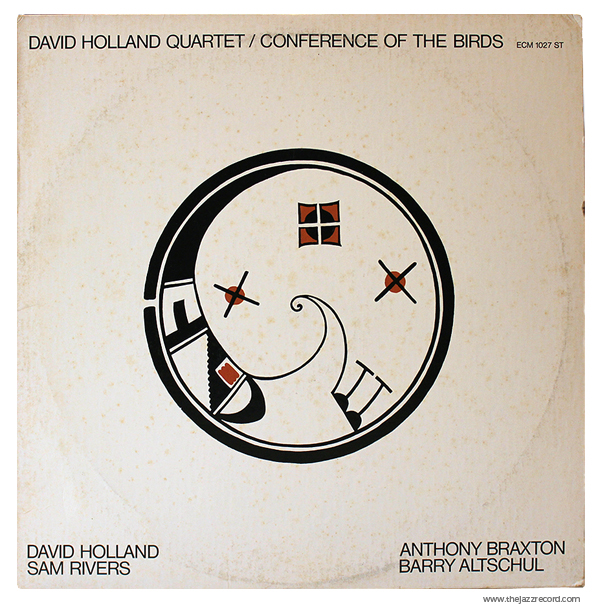 """Dave Holland - """"Conference Of The Birds"""" - Front Cover - Vinyl LP"""