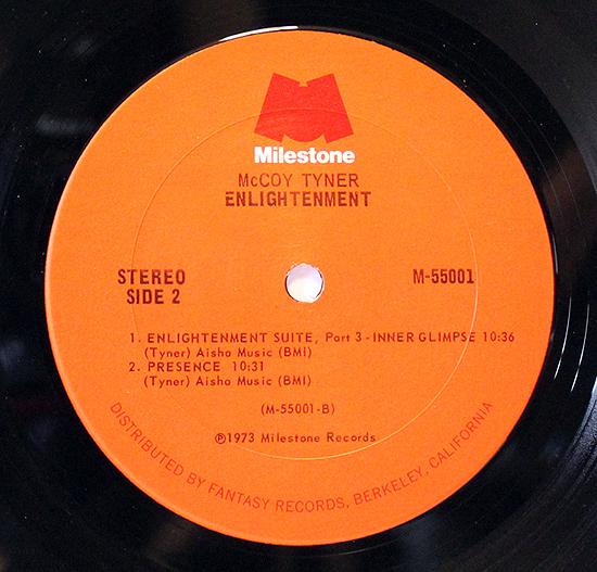 McCoy Tyner - Enlightenment - Label Vinyl LP