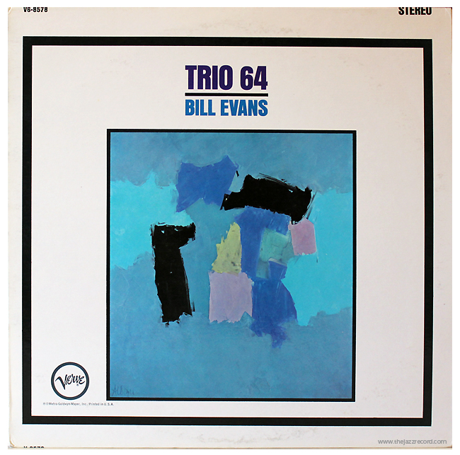 Bill Evans - Trio 64 - Front Cover - Vinyl
