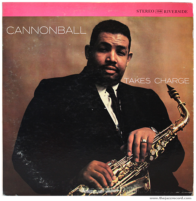 Cannonball Adderley - Cannonball Takes Charge - Vinyl Front Cover