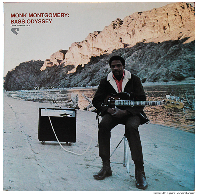 Monk Montgomery - Bass Odyssey - Vinyl Front Cover